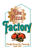 sponsor logo for The Pizza Factory