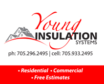 sponsor logo for William Young Drywall